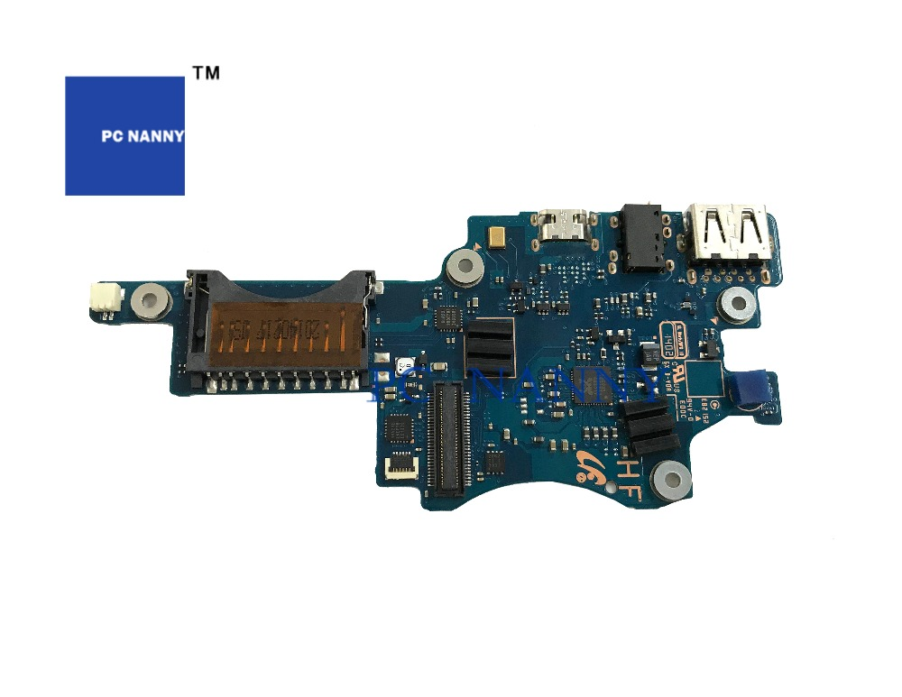 Pc Nanny For Samsung Np900x3 Series 900x3b 900x3c 900x3d Usb Audio Power Switch Board Amor2-13 Right Sub Ba92-09391a Works Computer & Office