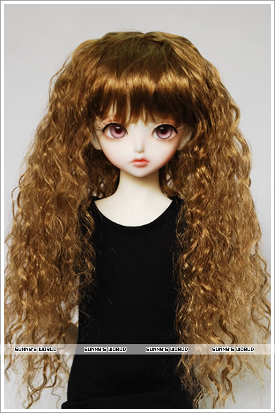 1/3 1/4 1/6 1/8 1/12 scale BJD wig curls hair for BJD/SD DIY doll accessories.Not included doll,clothes,shoes,and other 16C1051