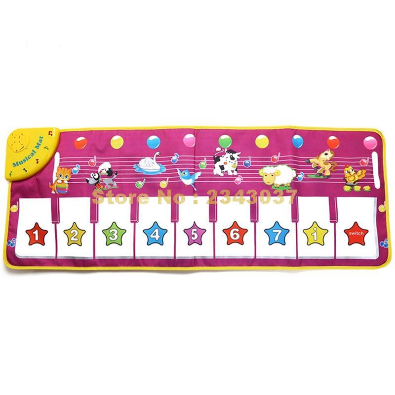 Звуковая цифровая вспышка с цифрами животных Музыкальный детский коврик музыкальные детские игровые коврики для фортепиано