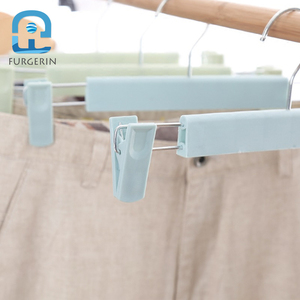 Image 4 - 5pcs/lot Clothes Hanger Wall Organizer Kids with Pegs Anti Slip Baby Hangers Space Savers for Underwear Socks T shirt Drying