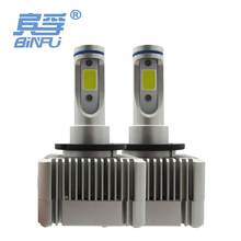BiNFU Ultra Bright Car LED Headlight D1S D1R D3S D3R 12V 6000K White 55W Replace HID Halogen LED Fog Light Bulbs Plug&Play Auto
