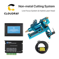 Cloudray Auto Live Focus Sensor System LFS ANM T43 Hybird Laser Head Driver for Nonmetal Plywood Wood CO2 Cutting Machine
