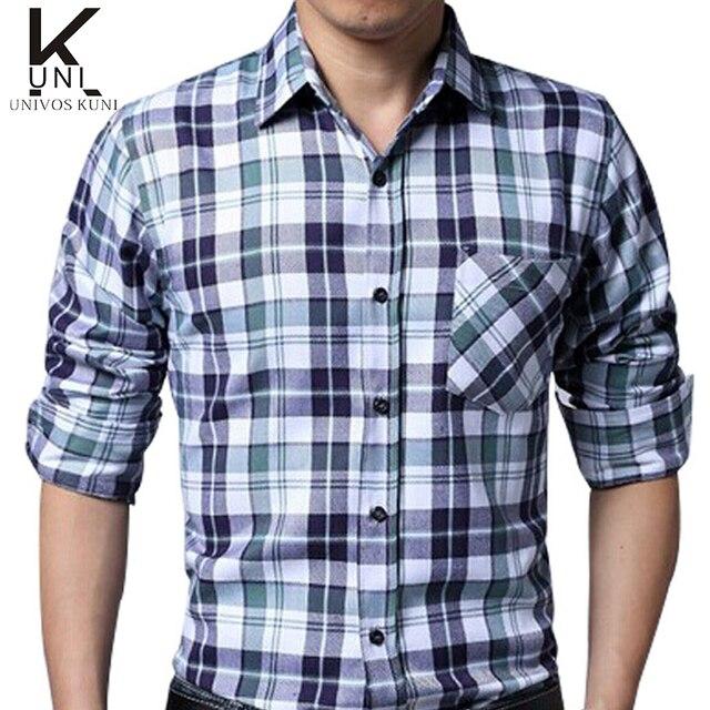 e8405bdc19 2016 Brand Shirts Mens Camisa Xadrez Check shirts Design Slim Fit Long  Sleeve Pattern Social Casual Shirts Chemise Homme FHY133