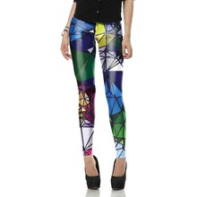Summer Autumn Sexy Legging New Arrival legins Geometric Boho Art leggins Printed Women leggings Woman Pants KDK1489