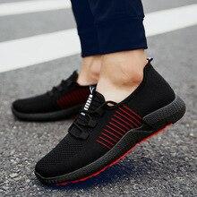 ba96a00b1 Sooneeya تنفس شبكة أحذية رياضية رجل أسود أبيض أحمر تشغيل رياضية للرجال 2019  الربيع الركض أحذية مشي Zapatillas