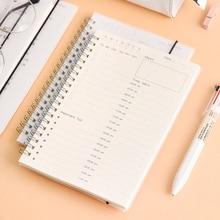 Ежедневный план управление временем ежедневный График обучения студентов самодисdiscipline Ина блокнот ежедневный для планирования расписания планировщик Органайзер книга