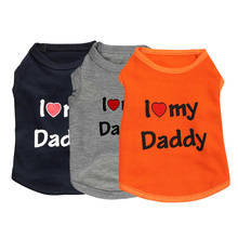 Daddy Mommy Pet Cat Puppy Clothes