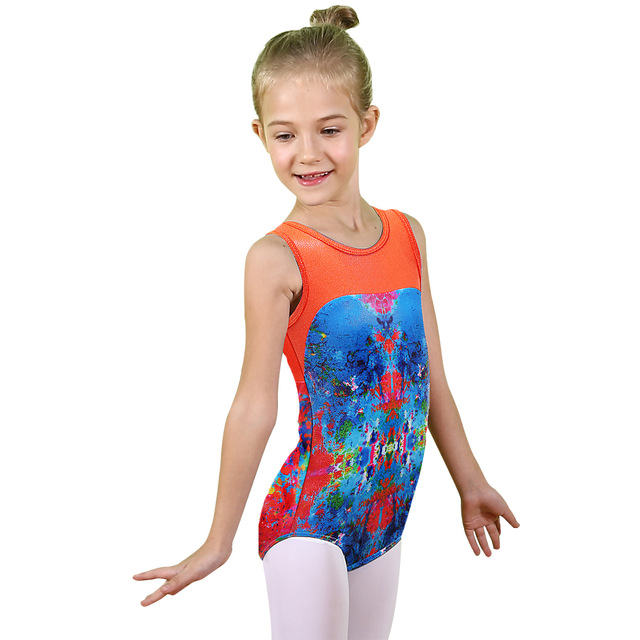 65ad4d201 Cute Toddler Tank Leotard for Girl Children Dance Leotards Costume ...