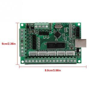 Image 5 - Mach3 placa de interface usb mach3 cartão de controle de movimento placa de interface usb para máquina gravura cnc controlador