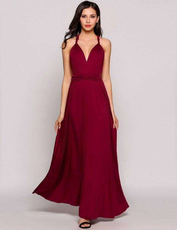 HTB1ECOCPFXXXXXwXXXXq6xXFXXXd - Women Long Dress Sleeveless Deep V Neck Backless JKP271