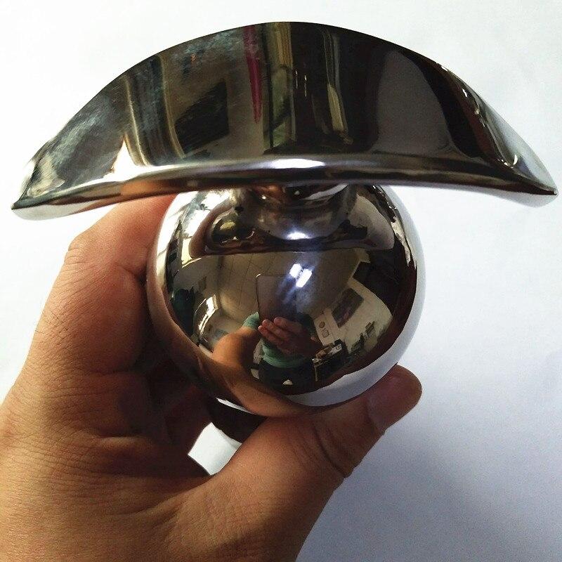 Anal Plugs Stainless Steel Anchor Style Butt Dilator Soild Bead Anus Eurynter Backyard Plug Anal Sex Toys for Couples H8-1-78