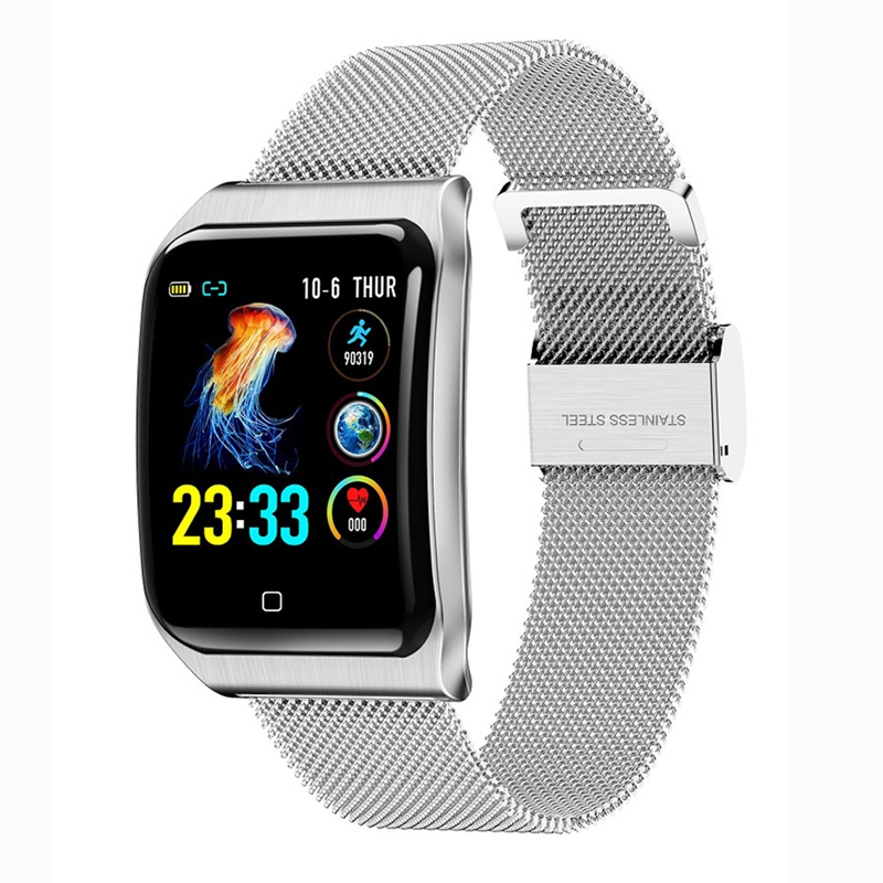 F9 Smart Watch Men Ip68 Waterproof Multiple Sports Mode Heart Rate Blood Pressure Bluetooth Smartwatch 1.3Inch Screen