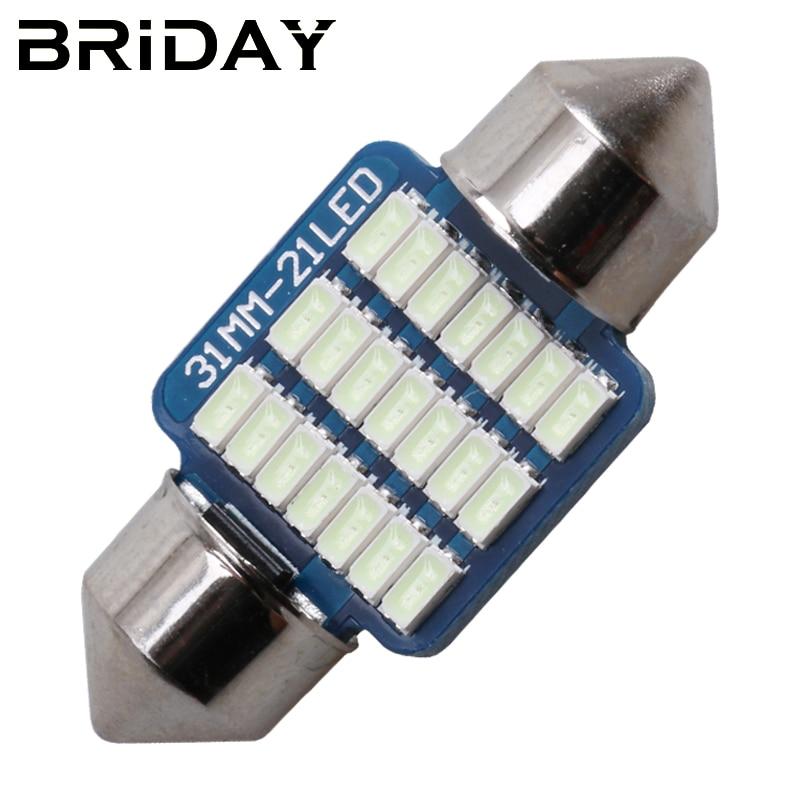 Гирлянда супер яркий 31 мм 36 мм 39 мм 41 мм 3014 карта лампы для чтения номерного знака светодиодные лампы с c5w C10W светодиодный внутренний купол света