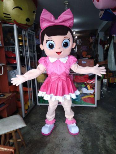LoL Bambole Sorpresa Fancy Rosa Partito Del Costume Della Mascotte Personaggio Dei Cartoni Animati Di Compleanno di Halloween