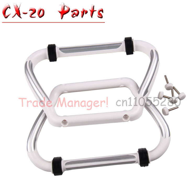 Free shipping CX-20 RC Drone Helicopter Quadcopter Parts  Undercarriage Landing Gear Set CX-20-019 for Cheerson Auto-Pathfinder tarot 450 pro rc helicopter parts landing gear set tl45050 02 for rc helicopter spare parts