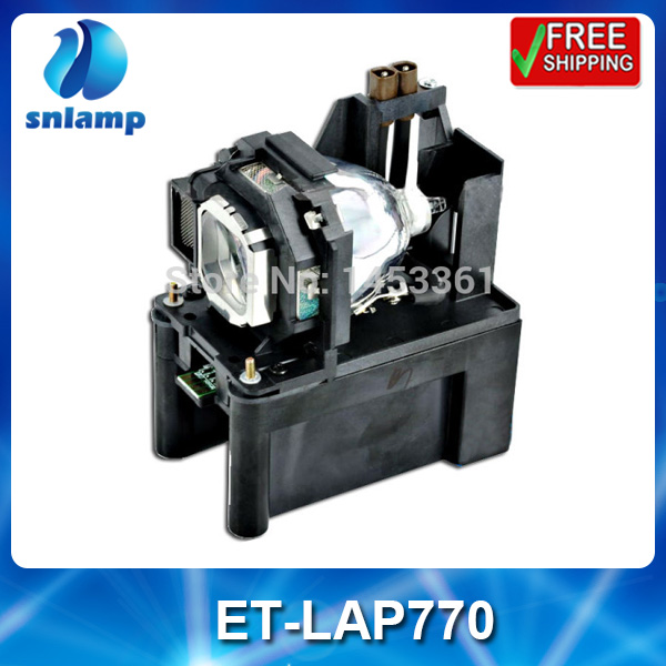 Compatible projector lamp bulb ET-LAP770 for PT-PX750/PT-PX760/PT-PX770/PT-PX860/PT-PX870NE/PT-PX880NT