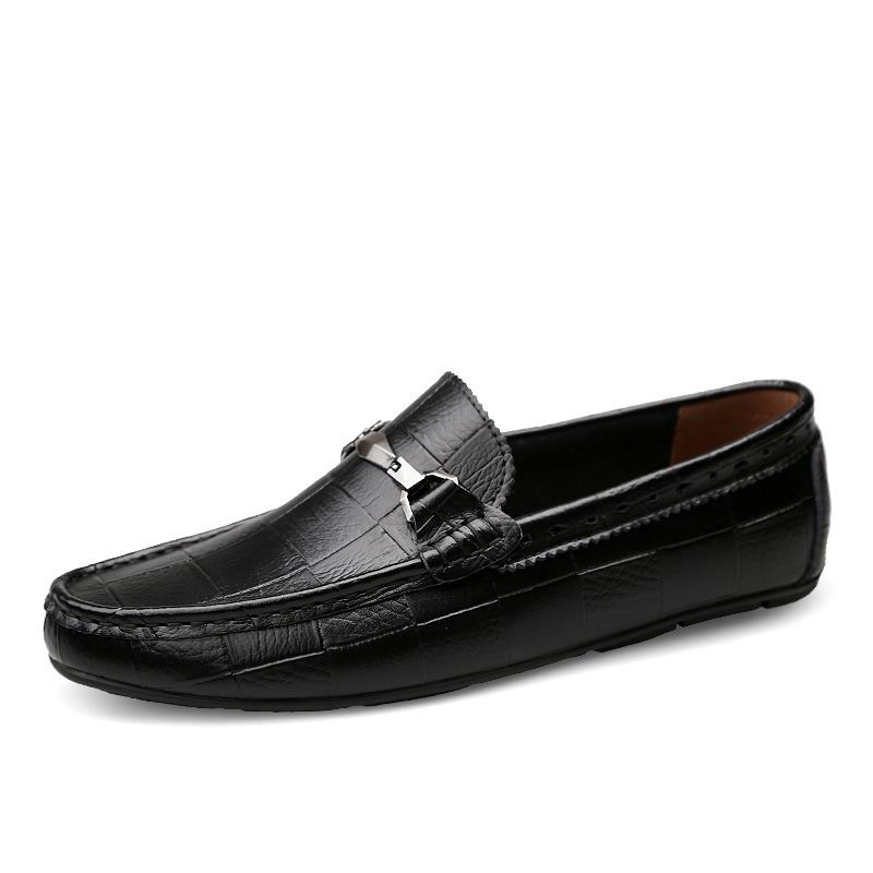 jaune Bout Zapatos Noir Nouvelle 45 Bleu bleu Marée Pour Conducteur 38 Arrivée Chaussures Homme Hommes Mocassins Lesiure Rond Noir Errfc Mocassin Taille Sur Le Glissement f67byYg