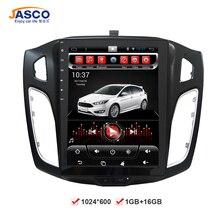10.4 'Vertical Gran pantalla Android Coches Reproductor de DVD GPS de Navegación multimedia para Ford Focus 2012 2013 2014 2015 RDS Radio Audio estéreo