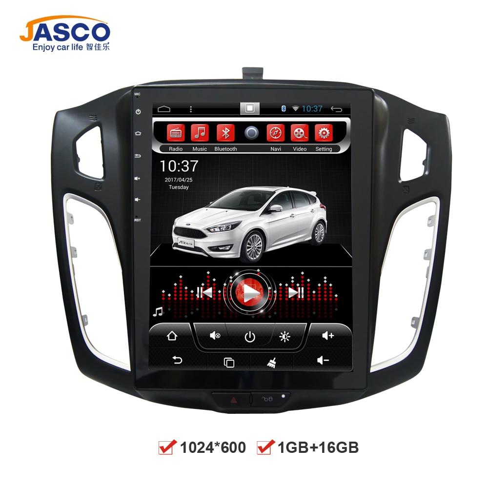 imágenes para Vertical de Gran pantalla Android Coches Reproductor de DVD GPS de Navegación multimedia para Ford Focus 2 Din 2012 2013 2014 2015 RDS Radio Audio estéreo