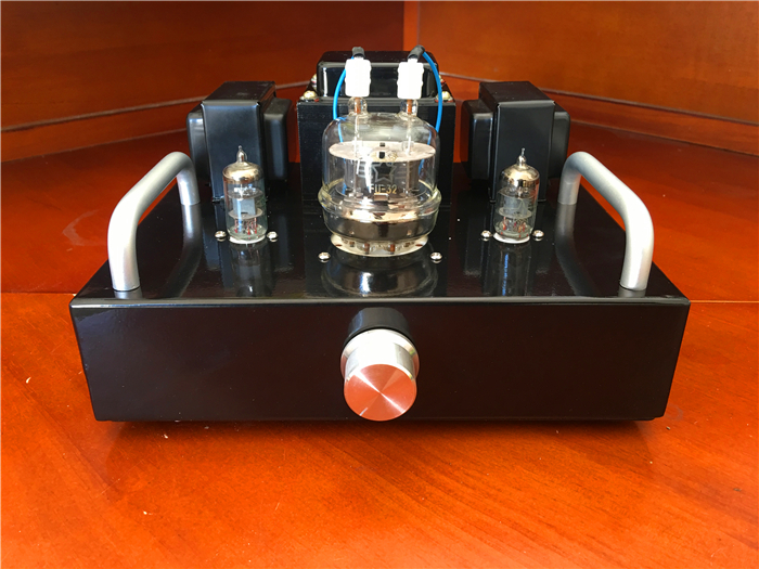 Mini 6J1 Push FU32 HiFi Tube Amplifier DIY Kit 3.5W+3.5W Stereo Audio Vacuum Tube Amp 1pcs high quality little bear p5 stereo vacuum tube preamplifier audio hifi buffer pre amp diy new