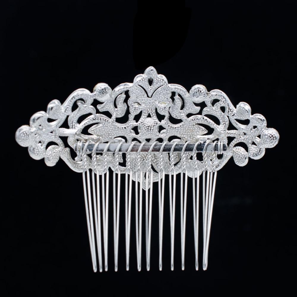 Popularni češalj za kosu s bočnim kristalima za mladenke za - Modni nakit - Foto 4