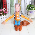 "50 unids/lote EMS liberan 16 "" Toy Story Woody felpa juguete figura de peluche muñeca de peluche caliente venta niñas niños juguetes"