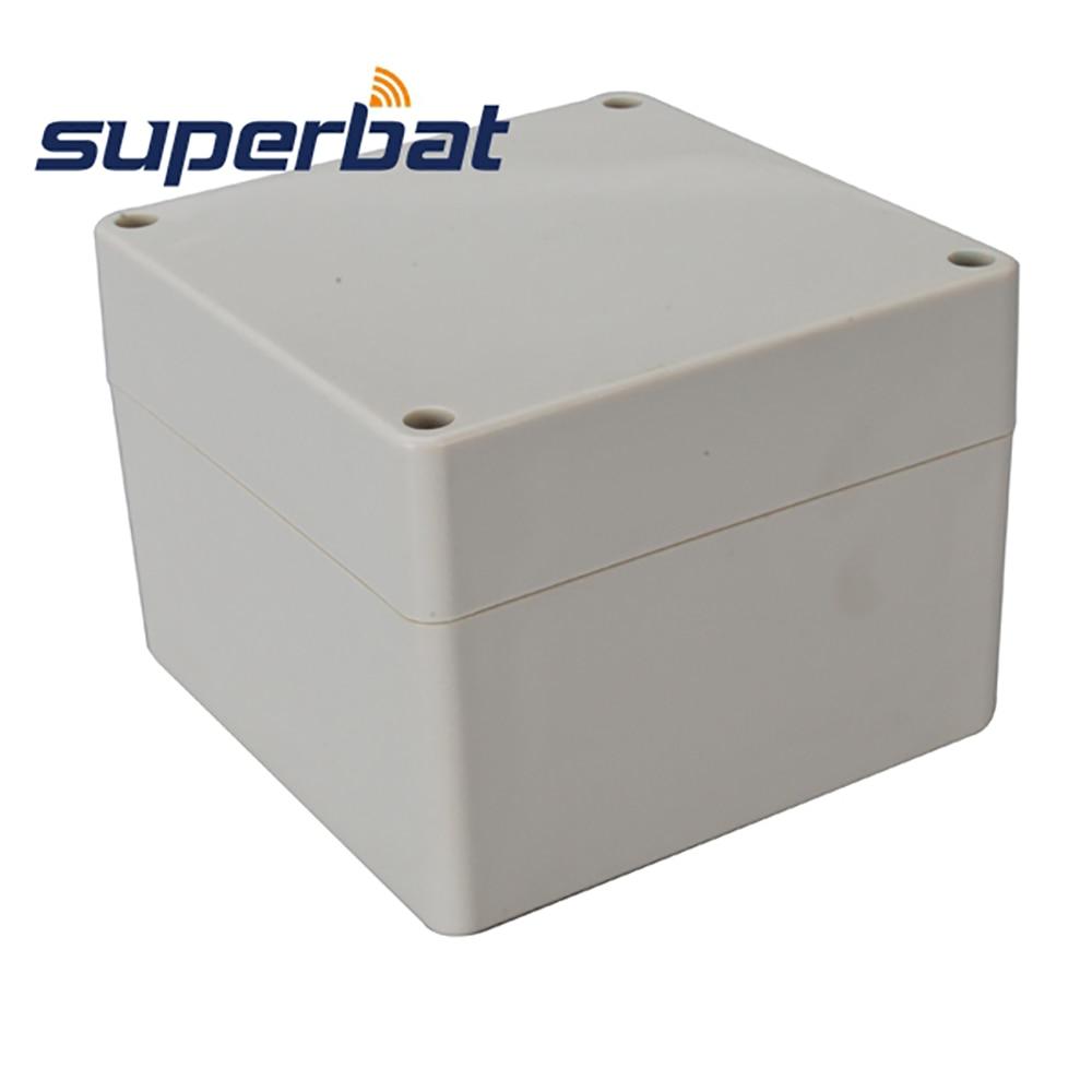 Superbat Waterproof 90*120*120mm Extruded Plastic Project Box Cabinet Enclosure Case 4.72