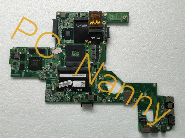 GENUINE FOR DELL XPS 15 L502X MOTHERBOARD HM67 s989 NVIDIA GEFORCE GT540M 2GB CN-0714WC 714WC DAGM6CMB8D0