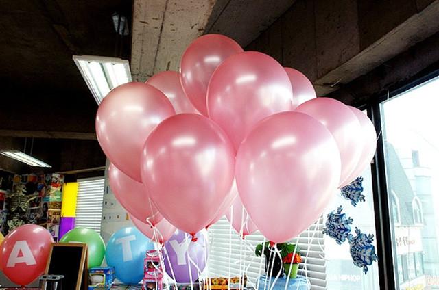 10SZT lot 1 5 g różowy Pearl lateks balon 21 kolory nadmuchiwane dekoracje ślubne Air Ball Happy urodziny akcesoria balony tanie i dobre opinie Piłkę Ślub Impreza Boże Narodzenie dzień dziecka Okrągłe piłka simball Balony party Różowy czarny czerwony żółty biały zielony Srebrny Złoty fioletowy itp