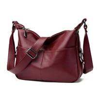 Sac A Main Ladies Retro Style Leather Shoulder Bag Casual Tote Bag Ladies Handbags Woman Big Casual Luxury Tote