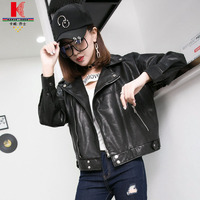 Black Leather Motorcycle Jacket Womens Burgundy Short Sale Jacket Lightweight Lambskin Zipper Long Sleeve Best Leather Jackets