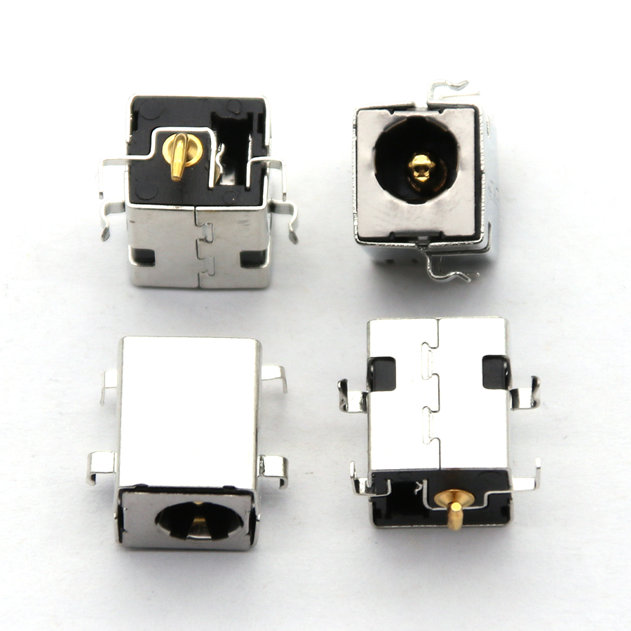 Brand New 2.5mm DC Power Jack Golden Pin For Asus K52JR A52 A53 K52 K53 U52 X52 X53 X54 PJ033 A43 X43 A53 A53S U30 LAPTOP