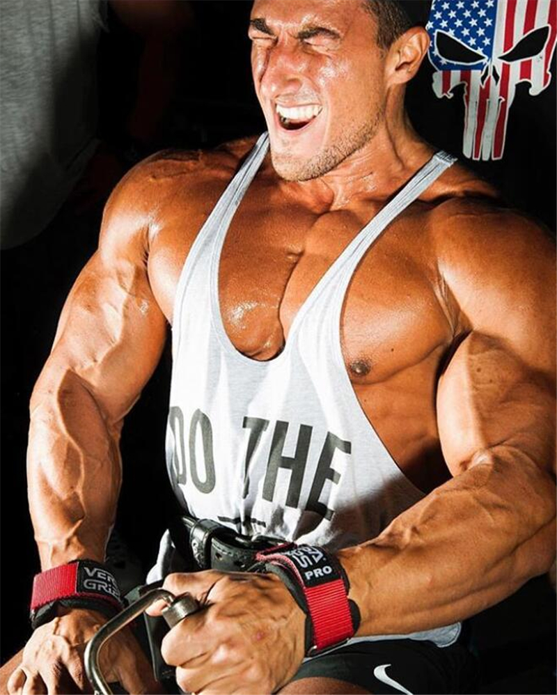 Muscleguys Brand Clothing Fitness Vest Gyms Singlet Y Back Tank Top Men Stringer Canotta Bodybuilding Sleeveless Muscle Tanktop