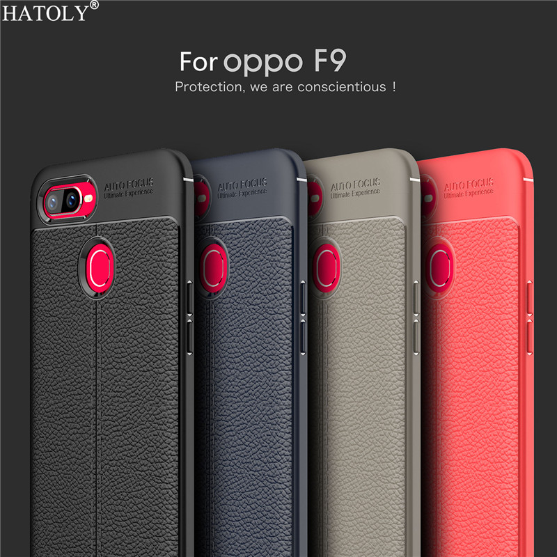OPPO F9 Case Cover For OPPO F9 Pro Case Soft TPU Rugged Back Case For OPPO F9 Cover Capa Fundas OPPO F9 Bumper Phone Case {