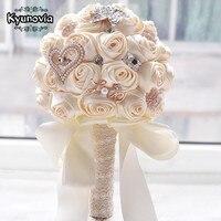 Kyunoviaในสต็อกจัดงานแต่งงานที่สวยงามดอกไม้สีขาว