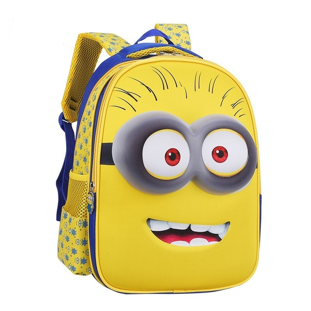 Despicable Me Minion Cute Backpacks for Children