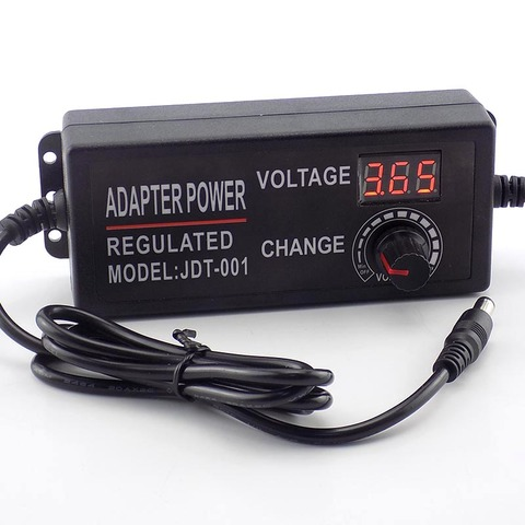 Adjustable AC DC 3V 24V 2A homecare 100-220V Power Supply Power Adapter 2000MA adaptor 48W Charger electric for cctv led lamp Multan
