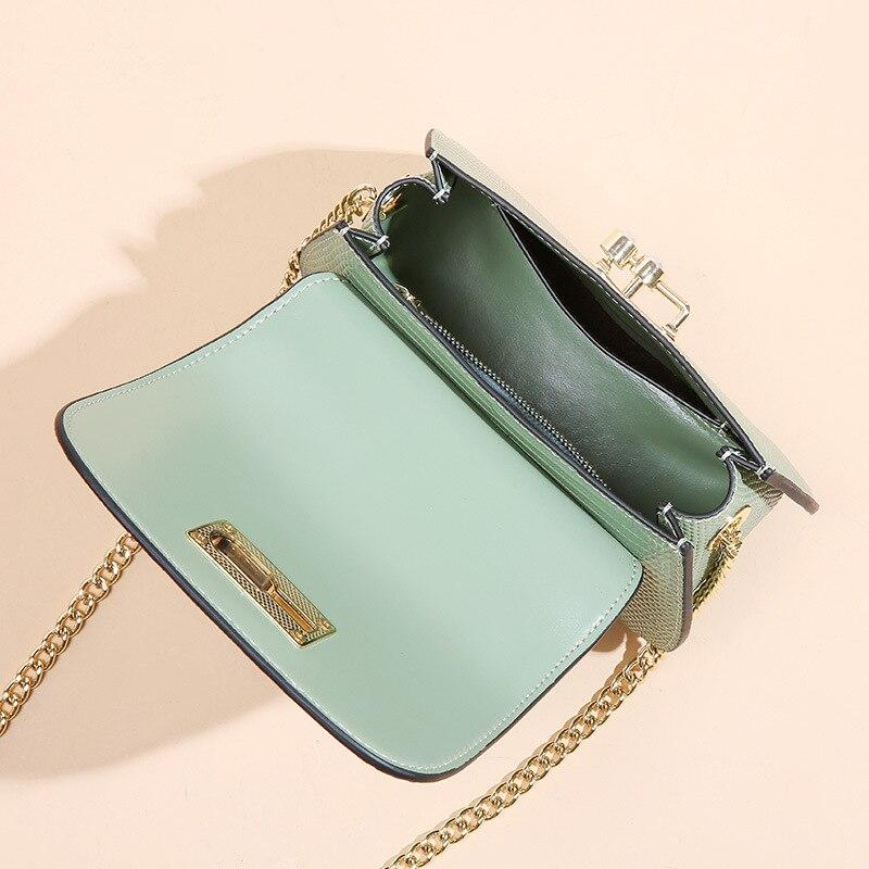 Mode Sattel Split Leder Runde Tasche Umhängetaschen Für Frauen Luxus Handtaschen Frauen Taschen Designer Mini Schulter Tasche sac - 3
