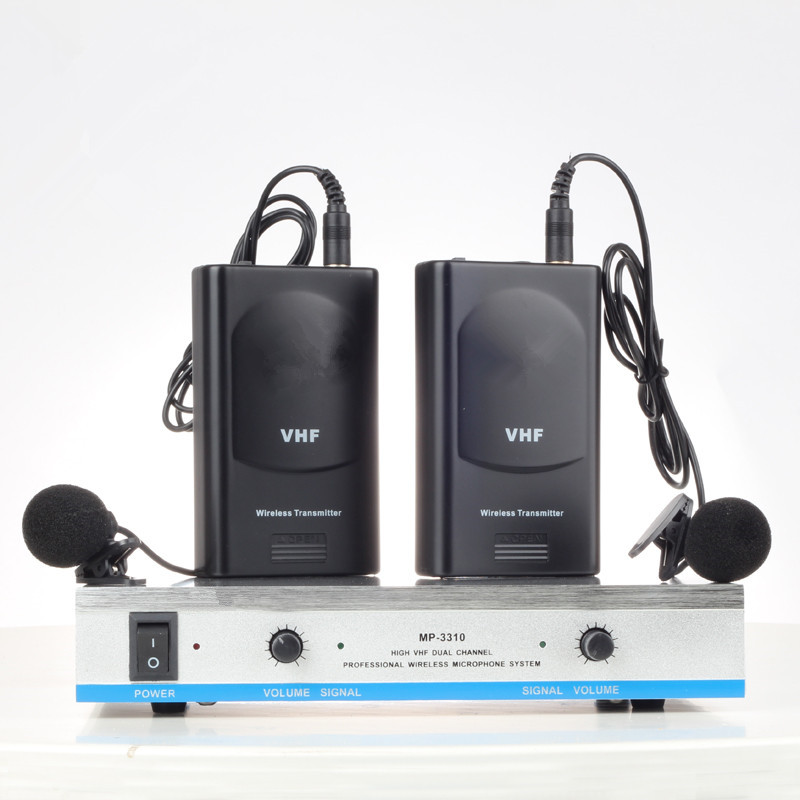 Wireless Microphone System MP3310 for DJ speaker in professional audio цена и фото