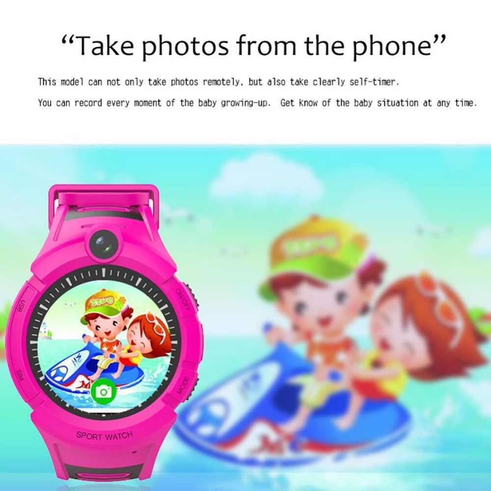 Q360 Kids Smart Watch With Camera LBS WIFI Location Child Smartwatch SOS Anti-Lost Monitor Tracker baby WristWatch Hot