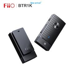 FIIO BTR1K inalámbrico Bluetooth 5,0 amplificador de auriculares portátil con cancelación de ruido USB DAC receptor de Audio con soporte de micrófono NFC