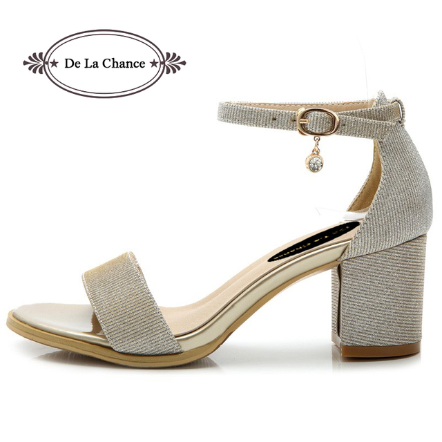 les sandales ouvertes toe sweet mode mode sweet épais chunky talon db17a3