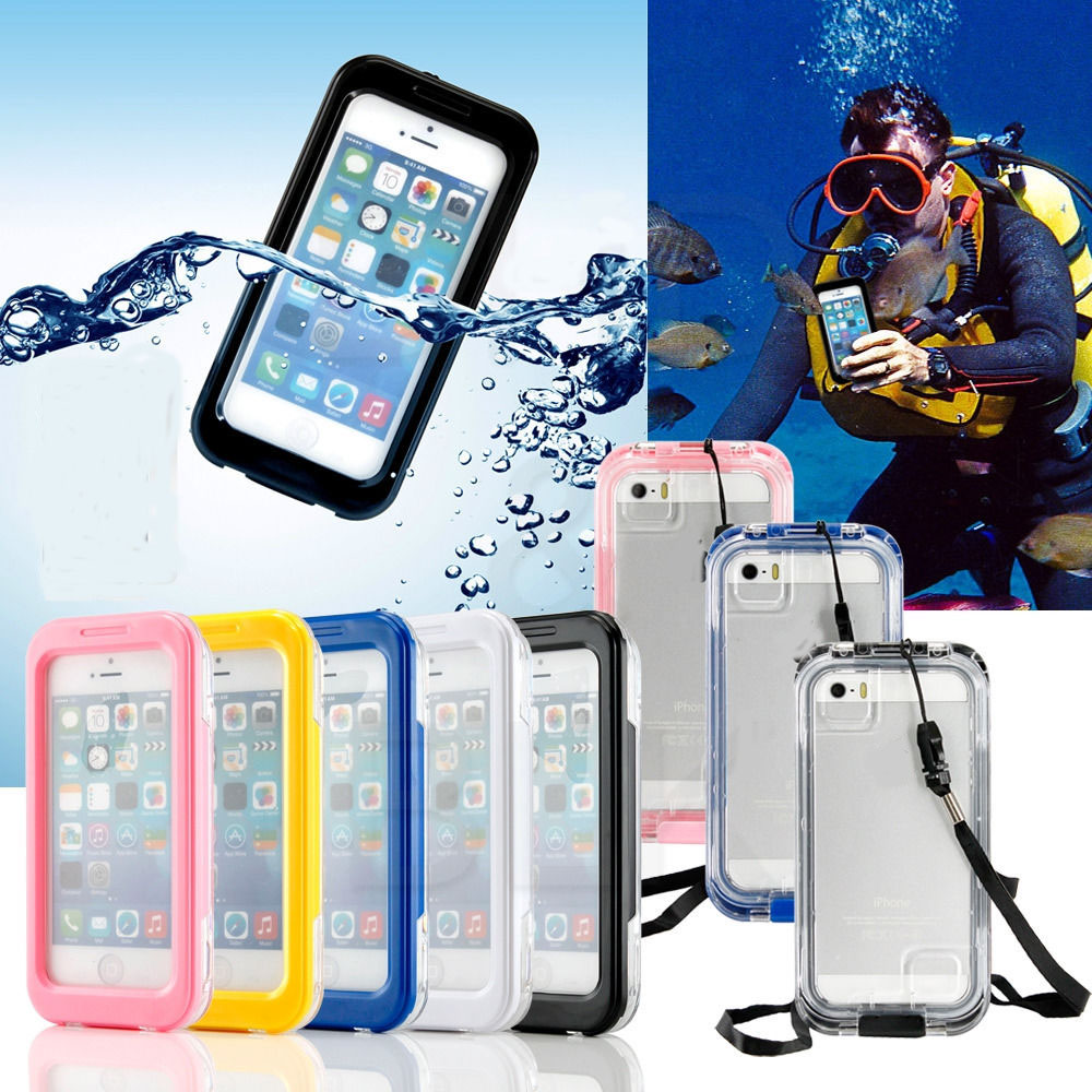 Waterproof Durable Shockproof Dirt Snow Proof Case Cover Phone Case for iPhone 7-in Fitted Cases