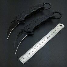 Тактический Karambit складной Ножи Охота Кемпинг ножи Выживание коготь G10 ручка Нержавеющаясталь лезвие профессиональные karambits EDC