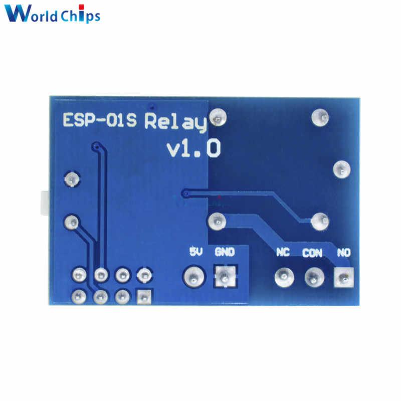 ESP8266 ESP-01S ESP01 S 5 V релейный модуль Wi-Fi ESP-01S ESP01S вещи умный дом дистанционное управление переключатель телефон приложение (без ESP-01S)