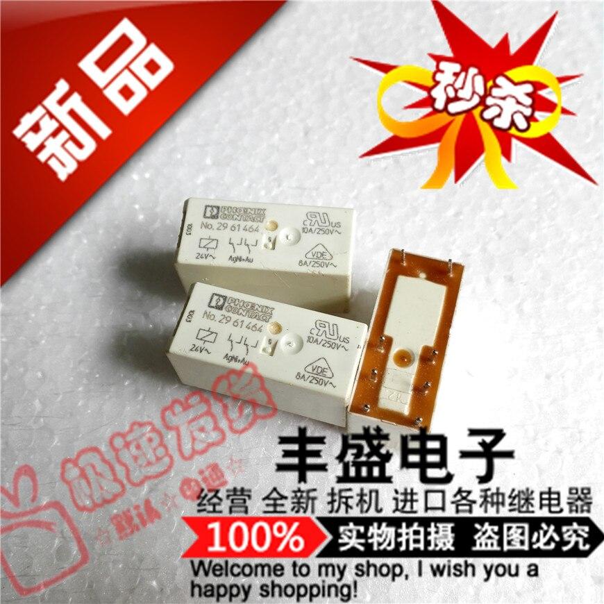 Original new 100% No.2961464 relay No.2961464-24V genuine import 10A250V 8pin
