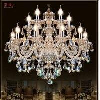 Современная хрустальная люстра гостиная люстры де cristal украшения Тиффани подвески и люстры дома Освещение Крытый лампы