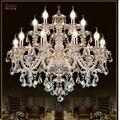 Современная хрустальная люстра для гостиной, украшения из кристаллов, Тиффани, подвески и люстры домашнее освещение, лампа для дома
