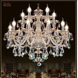 Lustre de cristal moderna sala estar lustres decoração tiffany pingentes e lustres iluminação para casa lâmpada interior