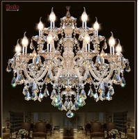 Large Chandelier Lighting Top K9 Crystal Chandeliers Bedroom Lamp Dining Room Crystal Lamp Crystal Chandelier Light